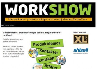 Work Show – nätverk med flera olika siter